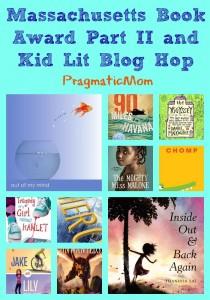 Massachusetts Book Award Part II, Kid Lit Blog Hop