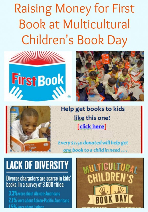 Raising Money for First Book at Multicultural Children's Book Day