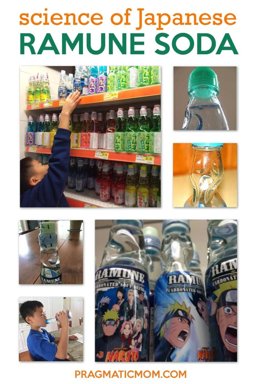 Science of Japanese Ramune Soda for Kids