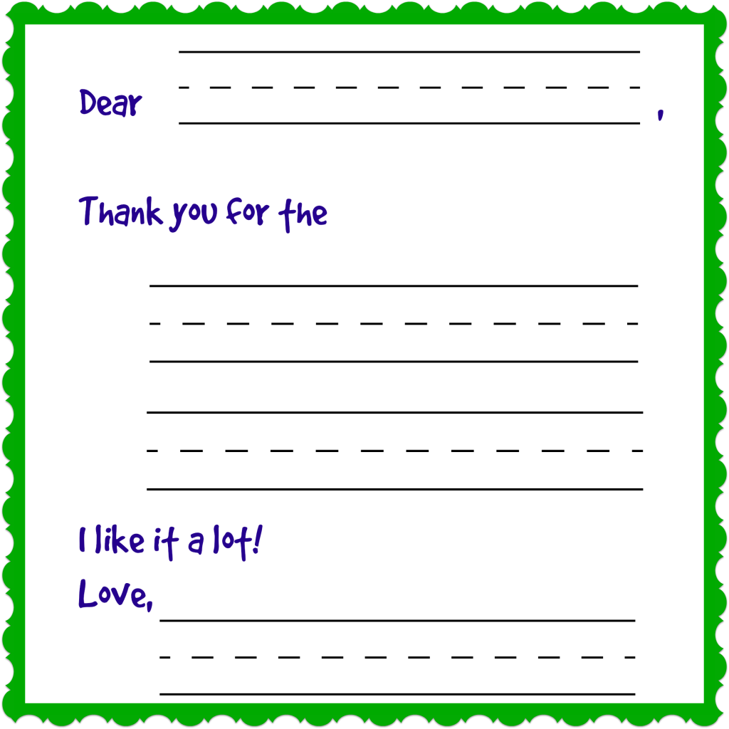 fill in the blank thank you note cards for kids