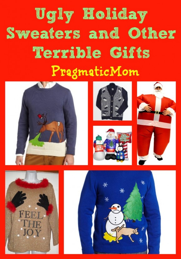ugly holiday sweaters and other terrible gifts