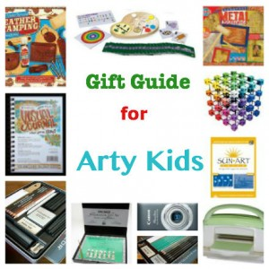 gift guides for arty kids