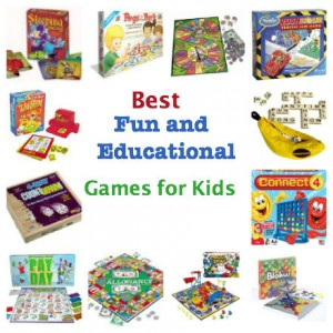 best fun and educational board games for kids