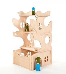 gender neutral doll tree house