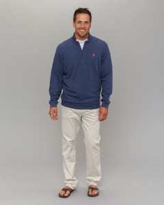 Johnnie O's quarter zip sweater
