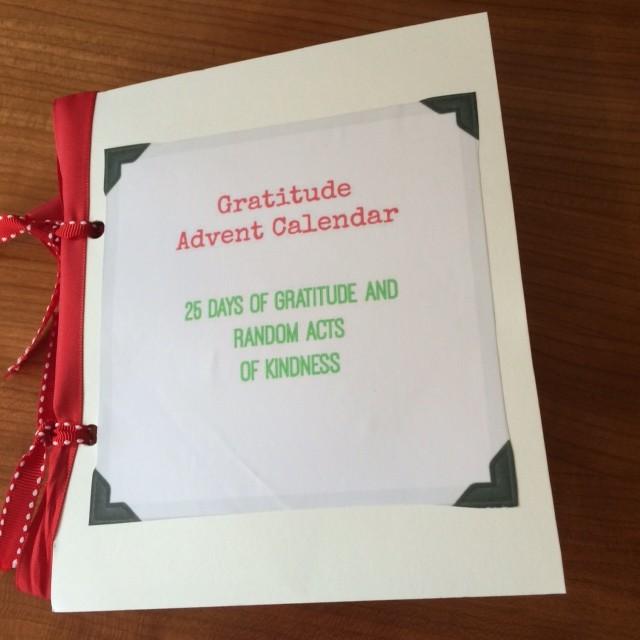 Diy Kindness Calendar : Diy gratitude advent calendar day of days