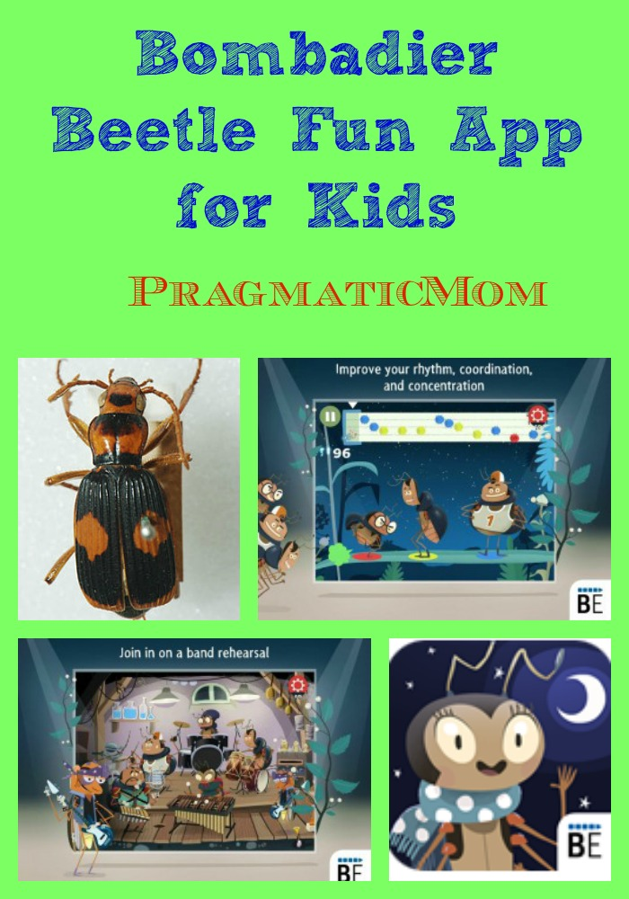 Bombadier Beetle Fun & Educational App for Kids