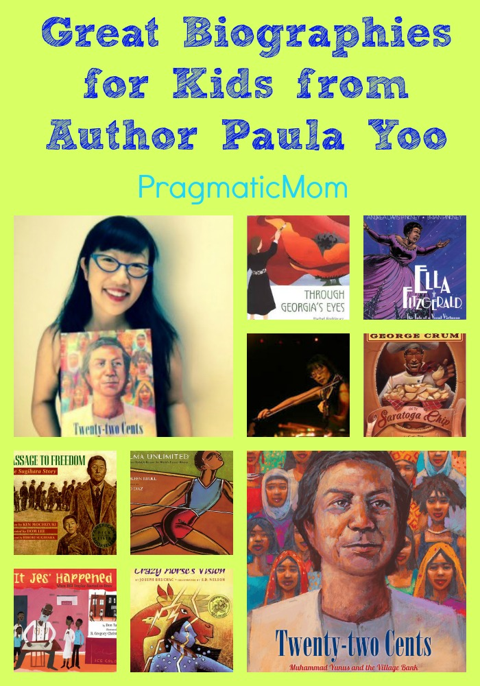 Great Biographies for Kids From Paula Yoo