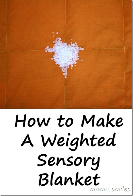 Sewing Tutorial: How to Make a Weighted Blanket (Sensory Friendly)