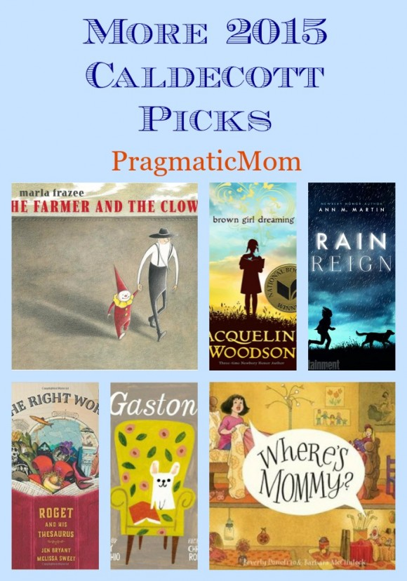 More 2015 Caldecott Picks & Picture Book of the Day