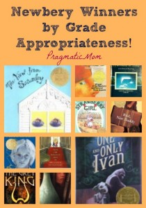 newbery books by age appropriateness