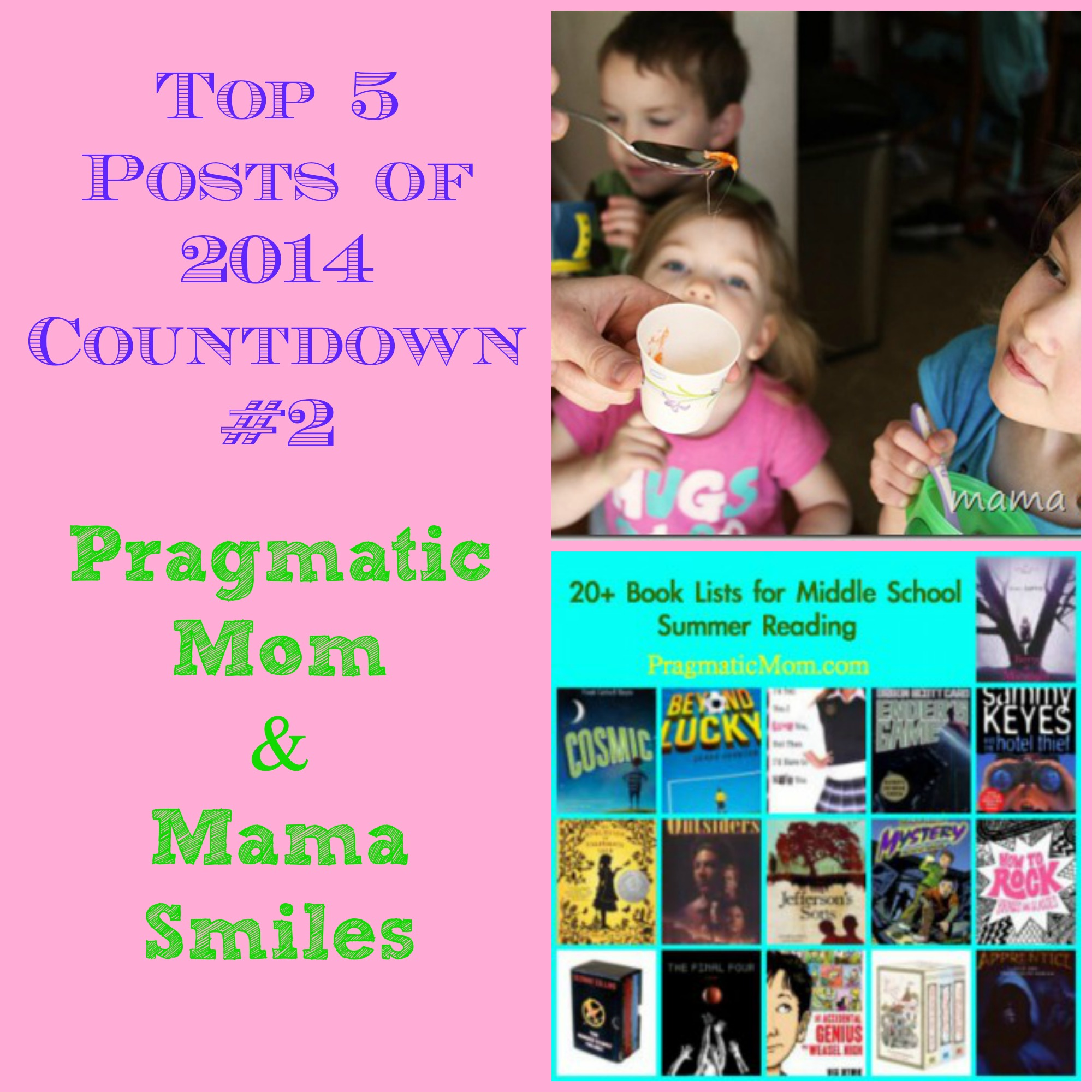Top 2 Post of 2014 MamaSmiles PragmaticMom