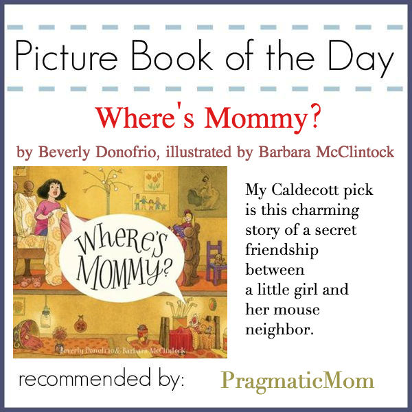 caldecott hopeful Where's Mommy?