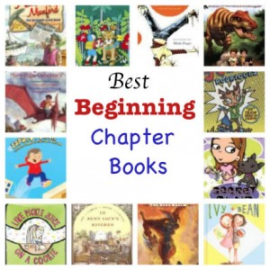 best beginning chapter books for kids ages 6 and up, best easy chapter books, best early chapter books