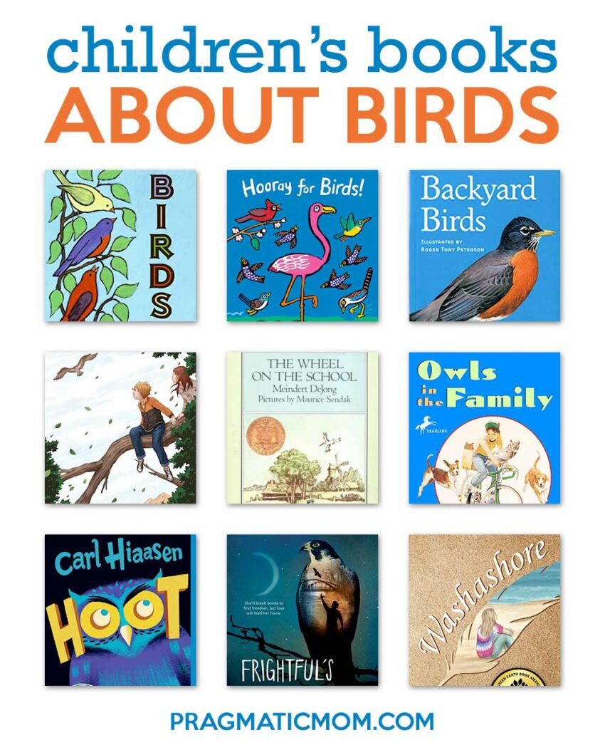 A Flock of Books about Birds