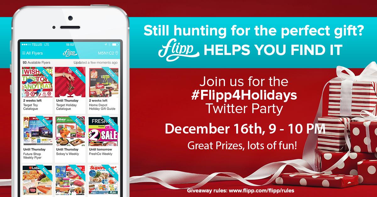 Flipp app Twitter Party