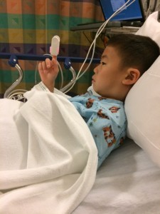 My son's cyst surgery at Boston Children's Hospital with Dr. Michael Cunningham at Ear Nose Throat