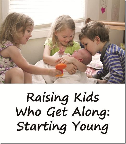 Raising Kids Who Get Along: Bringing Home A Younger Sibling from Mama Smiles