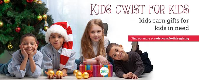 CWIST Holiday Giving Lets Kids Give Back