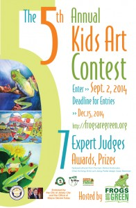 5th Annual Frogs Are Green Kids Art Contest