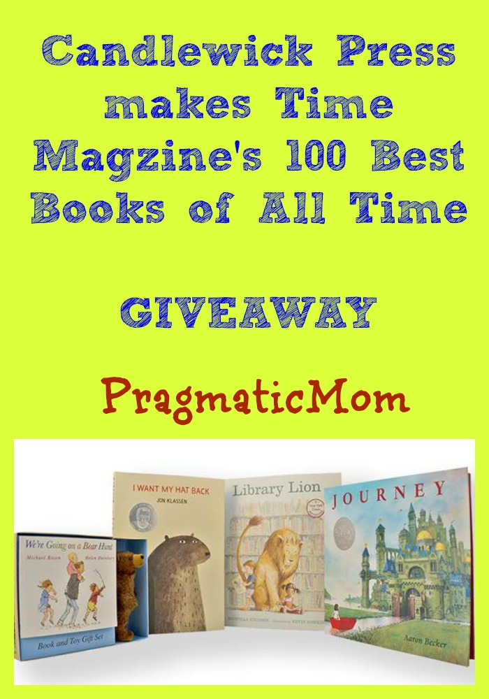 Candlewick Press best books Time Magazine list giveaway