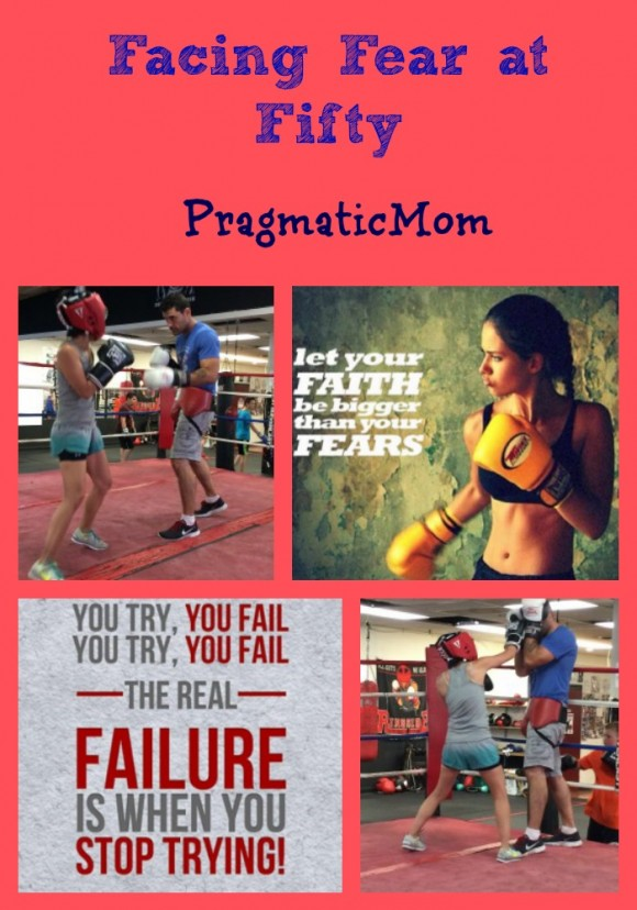 facing fear at 50, boxing and women