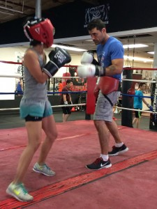 sparring boxing at 50
