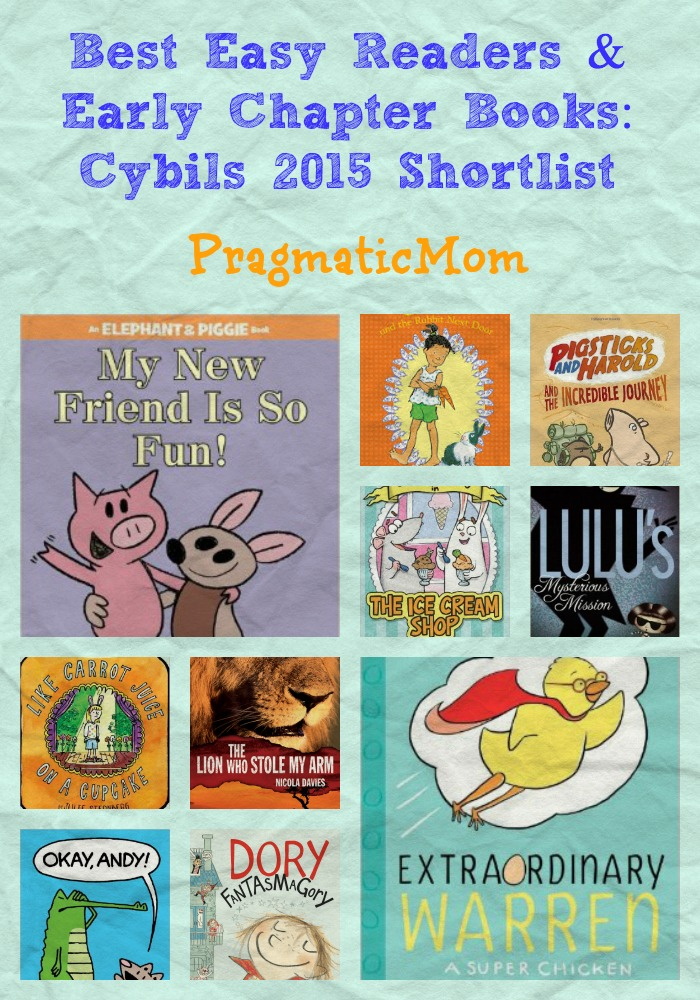 Best Easy Readers & Early Chapter Books: Cybils 2015 Shortlist