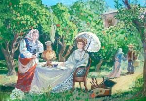 "International Children's Art Contest ""Anton Chekhov and Heroes of his Works"""