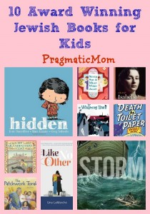 10 Award Winning Jewish Books for Kids