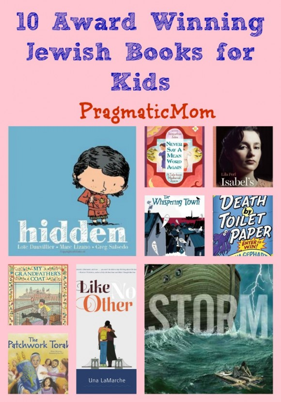 10 Award Winning Jewish Books for Kids