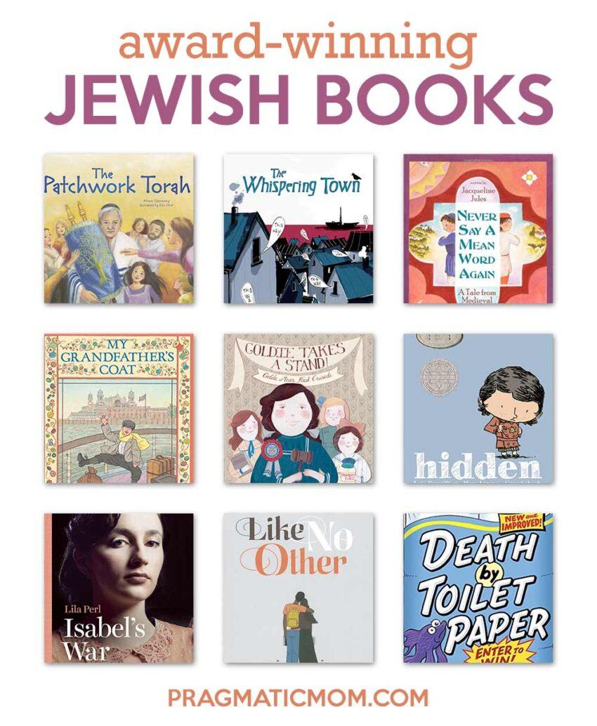 Award Winning Jewish Books for Kids