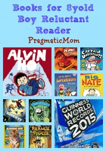 Books for 8yold Boy Reluctant Reader