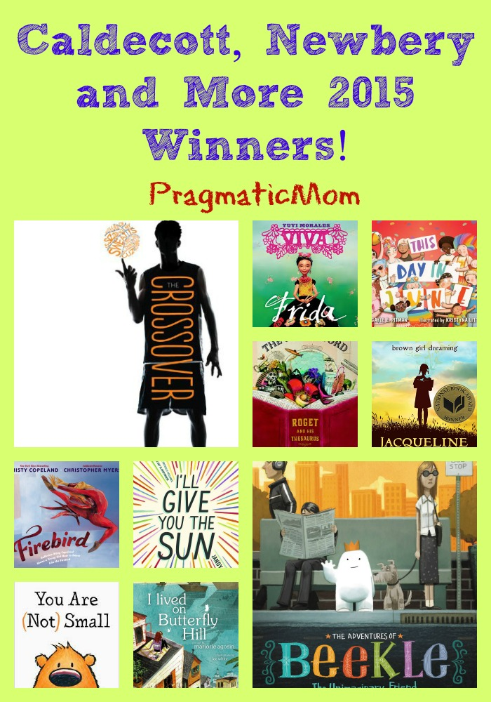 Caldecott, Newbery and More 2015 Winners!