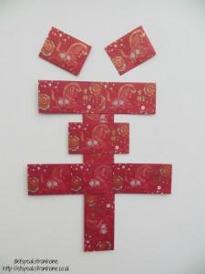 ang pow to make the word sheep Chinese New Year craft