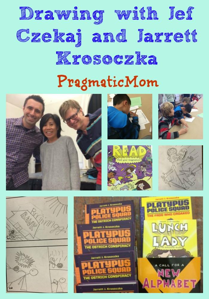Drawing with Jef Czekaj and Jarrett Krosoczka