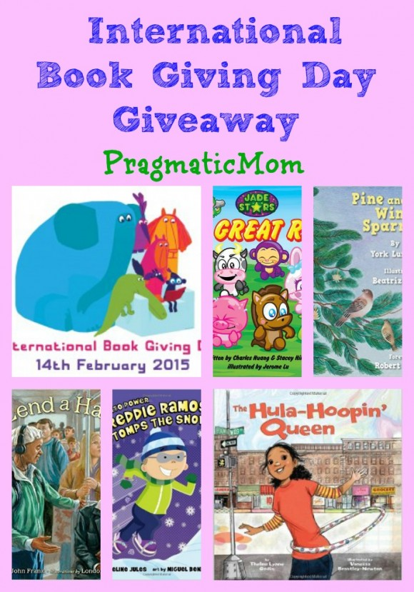 Happy International Book Giving Day #GiveaBook Giveaway