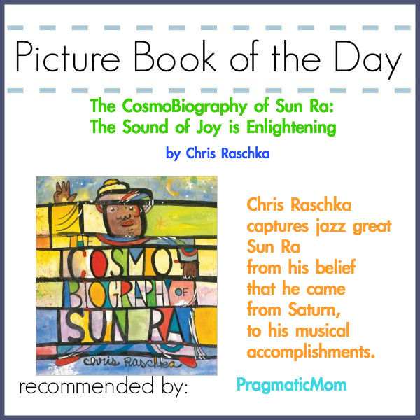 Sun Ra jazz musician picture book of the day