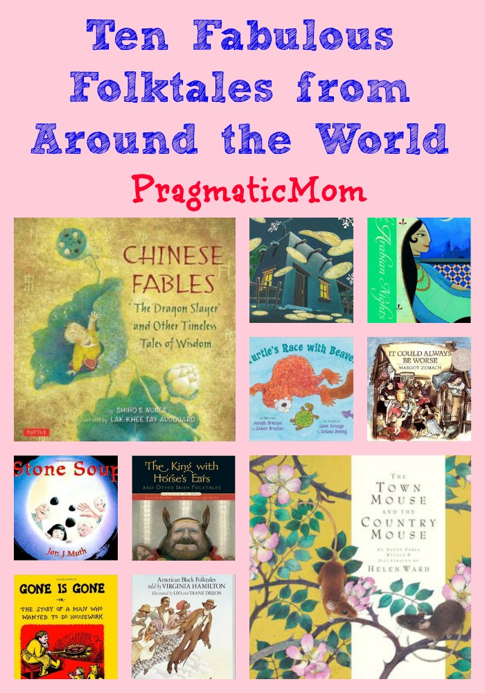 Ten Fabulous Folktales for Kids from Around the World