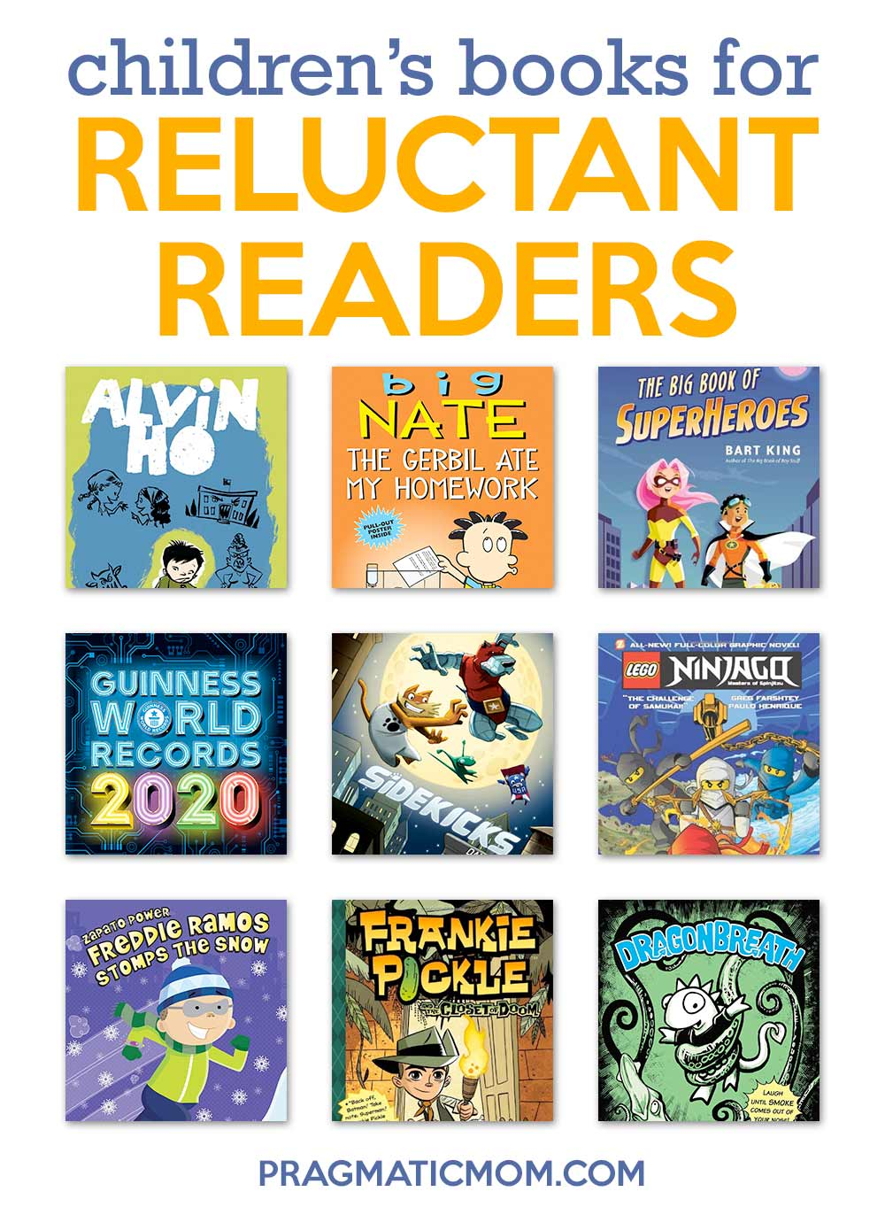 Children's Books for Reluctant Readers