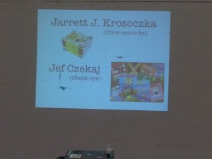 Jarrett Krosoczka and Jef Czejak Author Visit