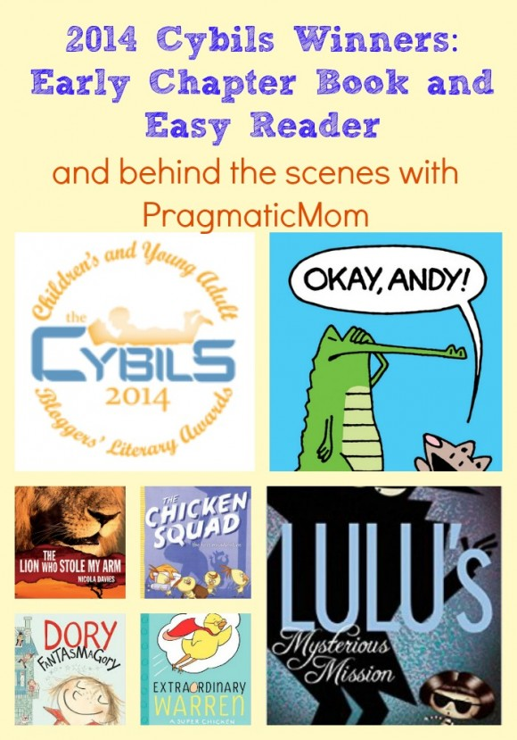 2014 Cybils Winners: Early Chapter Book and Easy Reader