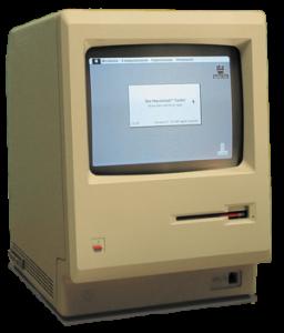 MacIntosh 128k, first macintosh computer