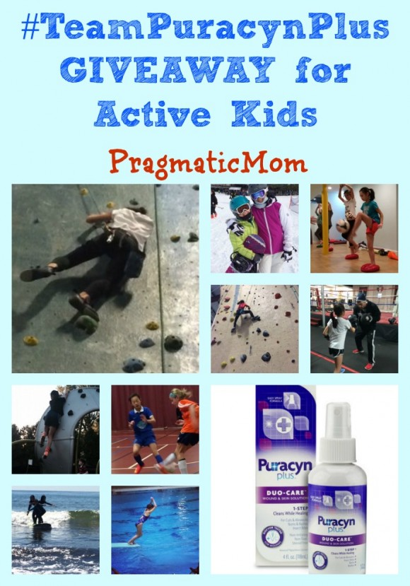#TeamPuracynPlus GIVEAWAY for Active Kids