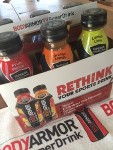 BODYARMOR sports drinks