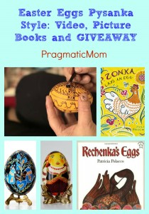 Easter Eggs Pysanka Style: Video, Picture Books and GIVEAWAY