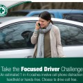 take the focused driver pledge