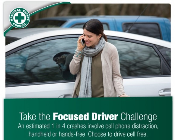 take the focused driver pledge