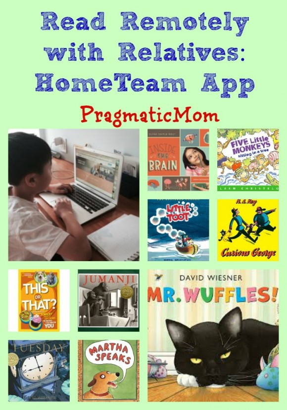 Read Remotely with Relatives: HomeTeam App