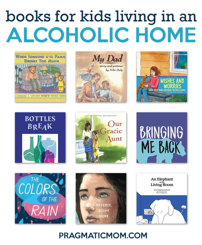 Books for Kids about Living in an Alcoholic Home